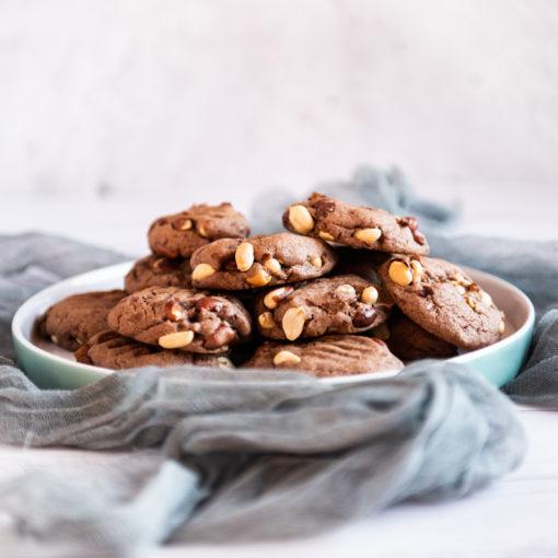 Peanut Brownies Baking Mix
